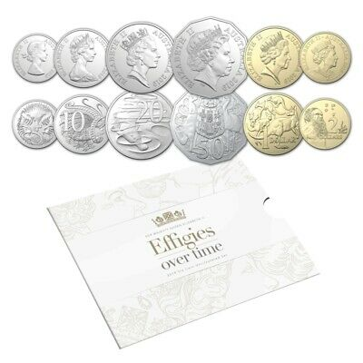 Effigies over Time RA Mint 2019 6 Coin Set Unc