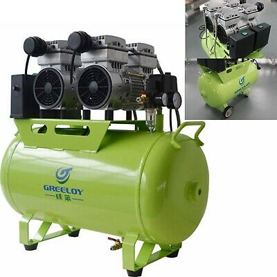 1200W Dental Movable Noiseless Oilless Air Compressor Motor 310L/min 1-Driving-4