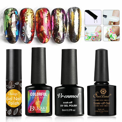 Nail UV Gel Foil Adhesive Glue for Starry Sky Sticker Transfer Nail Art 10ML