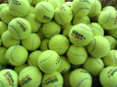 12 Used Tennis Balls for Dogs Orange/Green Good Condition Sanitised Pet Friendly