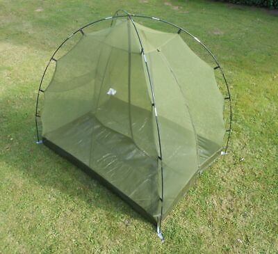 British Army Surplus Issue Ferrino 2 Man Free Standing Mosquito Net Tent,Bivi