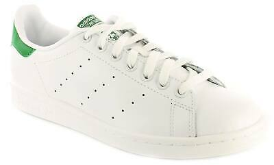 Chaussures Baskets adidas homme Stan Smith taille Blanc Blanche Cuir Lacets
