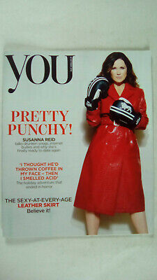 YOU Magazine Mail on Sunday 28 October 2018 Susanna Reid