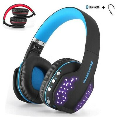 Wireless Gaming Headset Headphones Mic Led For Nintendo Switch Ps4 Xbox One X 22 44 Picclick Uk