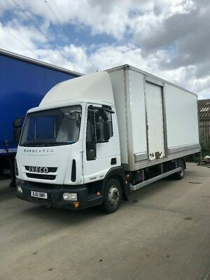 2011 61 Plate 7.5 Ton Iveco Eurocargo Box Lorry With Tail Lift Gearbox Fault