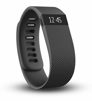 Fitbit Charge Activity Steps Tracker Pedometer Fitness Tracker - Black - Large