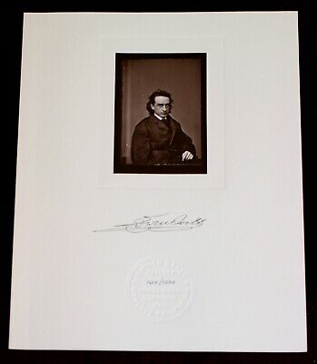 Mathew Brady actor Edwin Booth Photo Contact Print Meserve Collection Lincoln