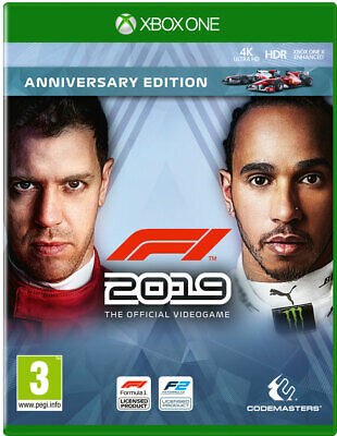 F1 2019 Anniversary Edition (Xbox One)  BRAND NEW AND SEALED - QUICK DISPATCH