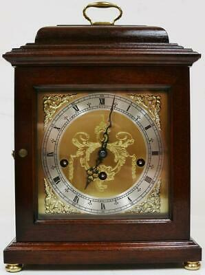Vintage Comitti London 8 Day 1/4 Striking Musical Westminster Chime Mantel Clock