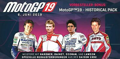 PS4 MotoGP 19 Historical Pack moto gp Vorbesteller DLC Bonus Code PLAYSTATION4