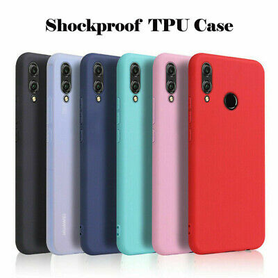 For Samsung Galaxy A20E A40 A50 Slim Silicone Frosted Soft TPU Back Case Cover