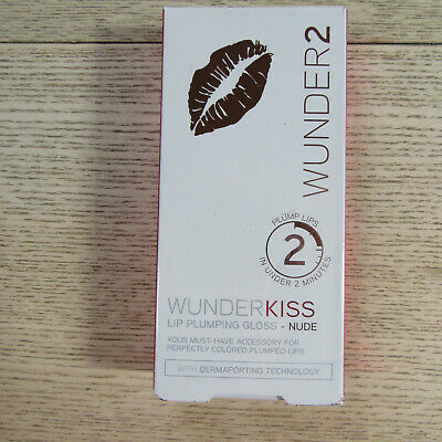 WUNDER2 - WUNDERKISS - Lip Plumping Gloss - NUDE - 4ML.