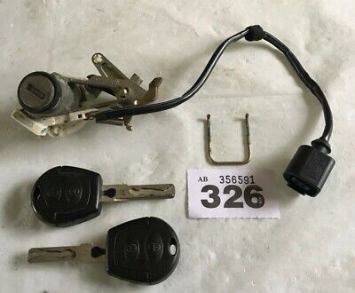 GENUINE VW LUPO POLO 6N2 GOLF Mk4 SHARAN BOOT LOCK BARREL TAILGATE LOCK + 2 KEYS