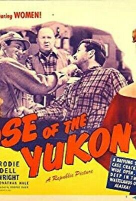"16Mm Feature Film  - ""Rose Of The Yukon"" - Steve Brodie - B/W - 1949 - 69 Min"