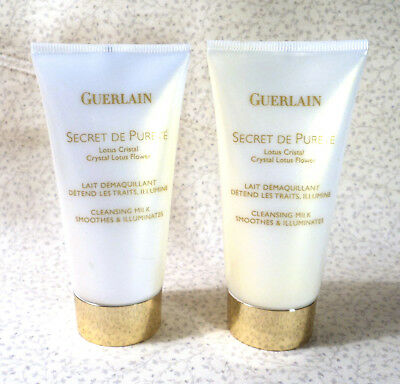 Guerlain Secret De Purete Crystal Lotus Flower Cleansing Cream