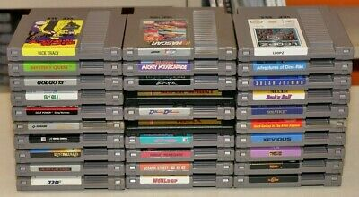 LOT of 30 Nintendo NES Games - CLEANED & TESTED WORKING!!!