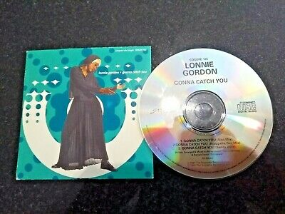 "Lonnie Gordon ""Gonna Catch You"" Rare 1991 Remix Cd Single"