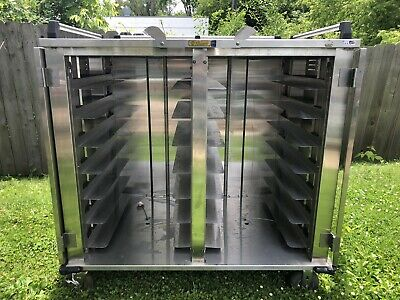 Alluserv NSF Stainless Steel Stealth 28 Tray Delivery Cart