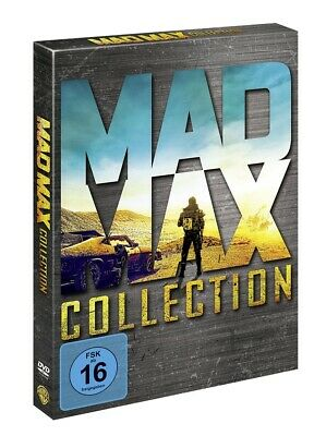 Mad Max - Collection (Teil 1+2+3+Fury Road) * 4 DVDs * NEU OVP