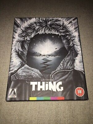 The Thing (1982) Arrow Video Limited Edition Blu-Ray. Oop
