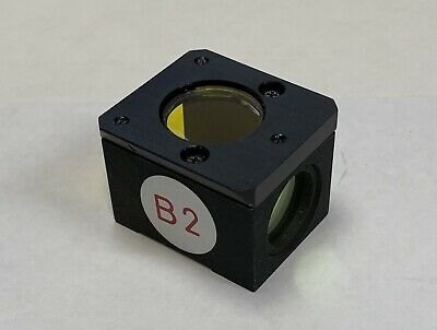 Nikon Blue B2 Blue Fluorescence Filter Cube Microscope Diaphot Optiphot Labophot