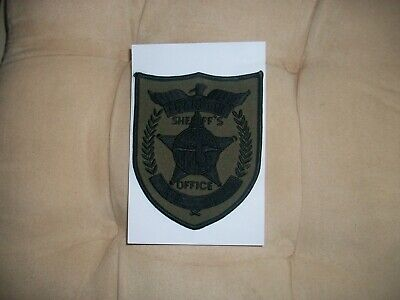 FRANKLIN COUNTY SHERIFF'S Office Florida Police Patch New K-9 Unit