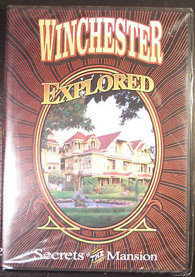 Winchester Mystery House DVD - Winchester Explored Secrets Of The Mansion - NEW