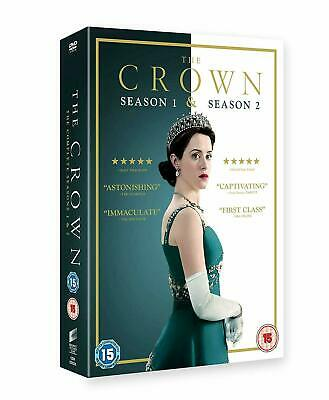 The Crown Complete Season 1 & 2 Brand New Sealed UK Region 2 DVD 30% OFF RRP