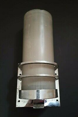 Art Deco Moderne Wall Light Sconce Cinema Stunning Rare Find.