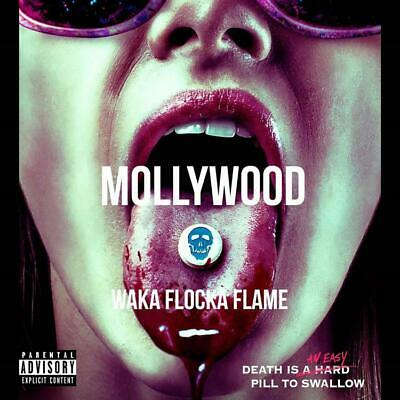 Waka Flocka Flame Mollywood (Mixtape) Official PROMO CD Rap Trap Hip Hop