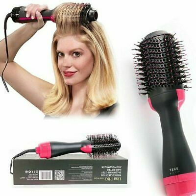 Pro Collection Salon One-Step Hair Dryer and Volumizer Comb Save G8T5