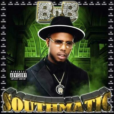 B.o.B Southmatic (Mixtape) Official PROMO CD Rap Trap Hip Hop