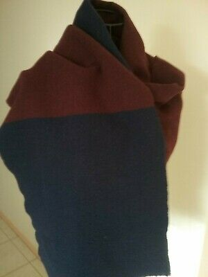 Woollen Country Road Scarf Made In Italy