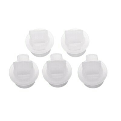 5X(5pcs electric manual breast pump special accessories silicone duckbill v4I7)