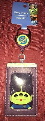 Loungefly Disney Toy Story Aliens ID Holder With Retractable Bag Clip