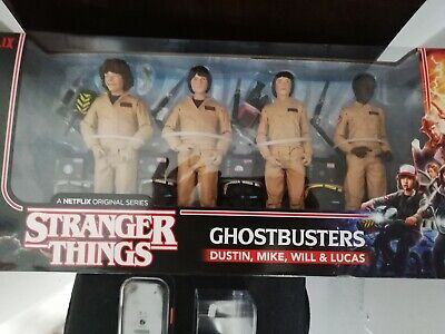 STRANGER THINGS - Ghostbusters 4-Pack Action Figure McFarlane