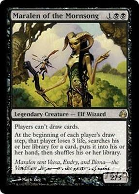 MARALEN OF THE MORNSONG Morningtide MTG Black Creature — Elf Wizard RARE