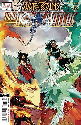WAR OF REALMS NEW AGENTS OF ATLAS #2 2nd PRINT VARIANT - MARVEL - 26/06/19