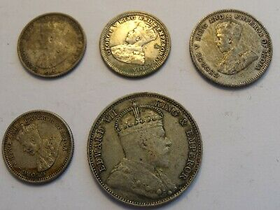 Straits Settlements - Silver Coins Collection