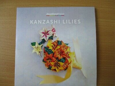 Kanzashi Lilies DVD (Pal) Jewellery Maker, New and Unused