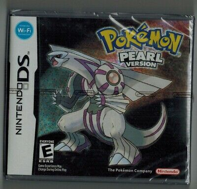 Pokemon Pearl Version For Nintendo Ds 3Ds Nds Dsi New & Sealed