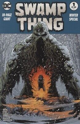Swamp Thing Winter Special (2018) #   1 2nd Printing Variant Cover (9.4-NM)