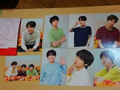 BTS world tour love yourself MINI PHOTO CARD official MD 2018 photocard 8 SET c