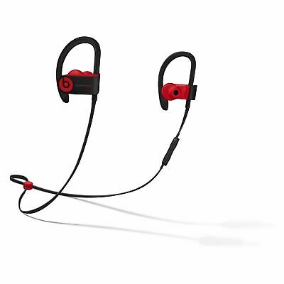 Beats by Dr. Dre Powerbeats 3 Ear-Hook Wireless Headphones - Defiant Black/Red