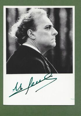 MICHEL SERRAULT in person signed glossy PHOTO 4 x 6 inch AUTOGRAPH
