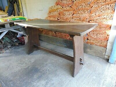 Rustic table, restoration project.