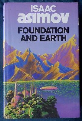 ISAAC ASIMOV. FOUNDATION AND EARTH. 1st UK EDITION/1st IMPRESSION. NEAR FINE