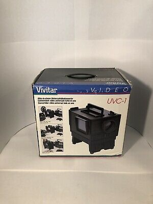 ✅ Vivitar Uvc-1 All In One Universal Video Converter From Slides & Photos- Video
