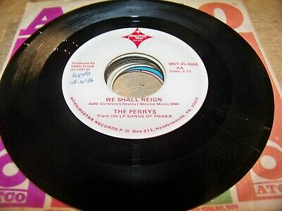 Lot of (9) Perrys 45s - All on Morning Star