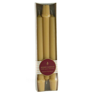 """Honey Candle Co. Honey Candle Co. 9"""" Beeswax Columns 9"""" 213894 OC"""